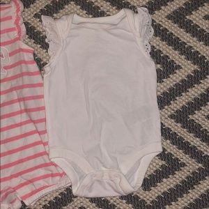 GAP One Pieces - 2 GAP Size 3/6 Months Baby Lot Onesies